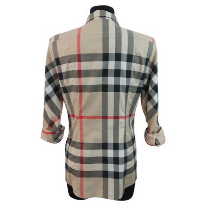 Burberry Blouse with Nova check pattern