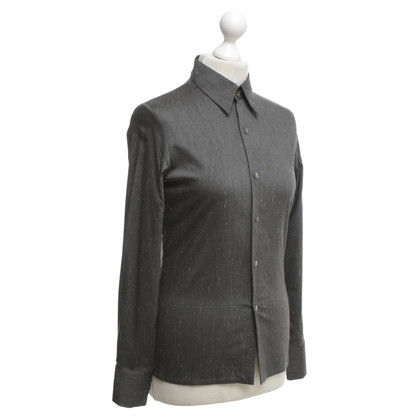 Equipment Gevlekte grijze blouse