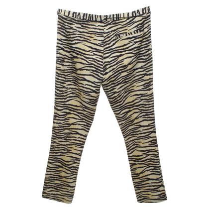Maison Scotch Pantalon avec motif tigre