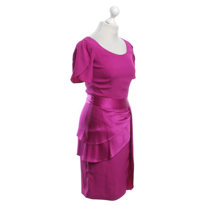 Temperley London Kleid in Fuchsia