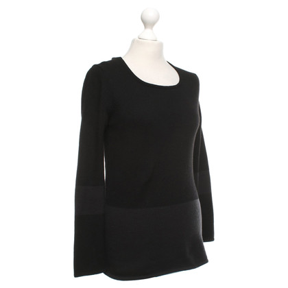 Iris von Arnim Cashmere sweater in black / anthracite