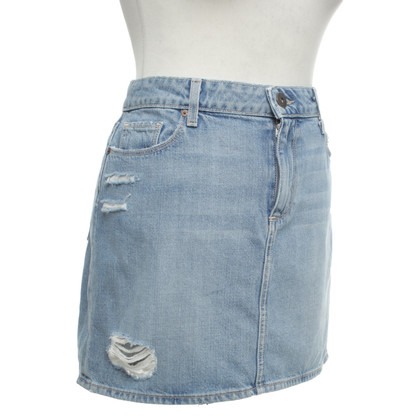Paige Jeans Denim skirt in blue