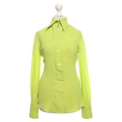 Dolce & Gabbana Blouse in neon green