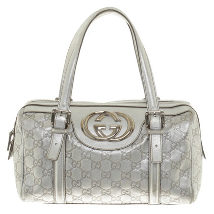 Gucci Handbag in metallic look