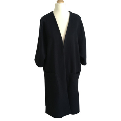 Ganni Coat in dark blue