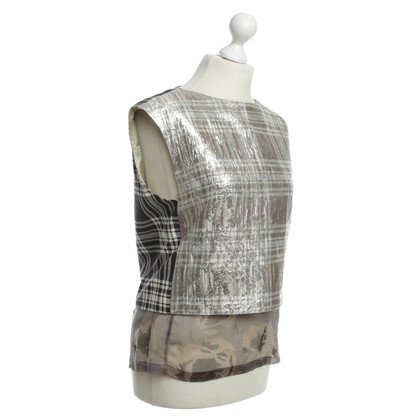 Dries van Noten Top met patroon mix