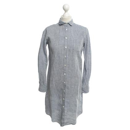 Hartford Linen blouse in blue