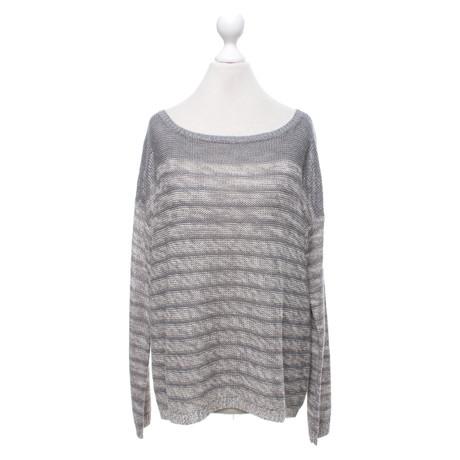 360 Sweater Pullover mit Streifenmuster Bunt / Muster