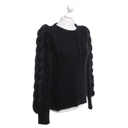 Hôtel Particulier Black knit sweater