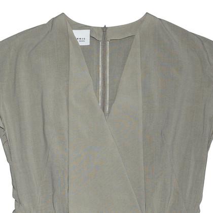 Akris Robe de laine gris