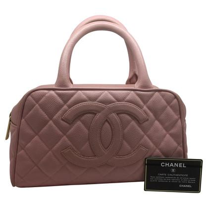 Chanel Bowler Vintage in pelle caviale