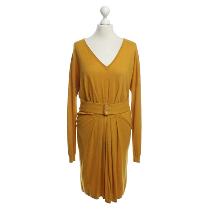 Vanessa Bruno Knit dress in mustard yellow