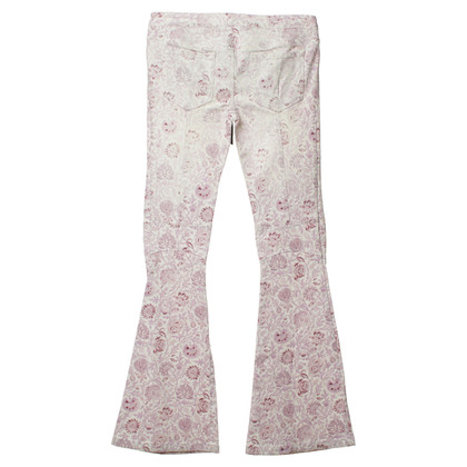 Balmain Jeans with floral pattern