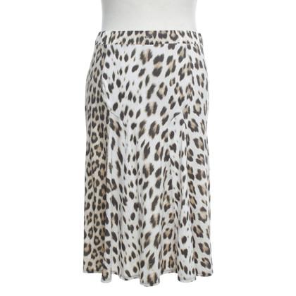 Blumarine skirt with leopard pattern