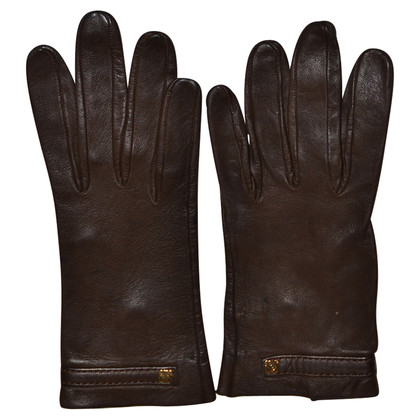 Loewe leather gloves