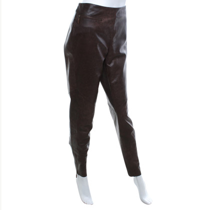 Gunex Leather pants in brown