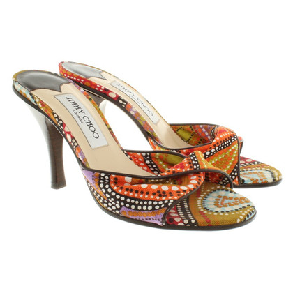 Jimmy Choo pumps with pattern