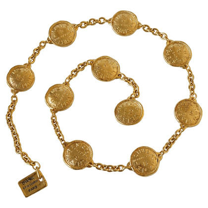 Chanel Chain belt with coin elements
