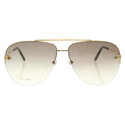 Cartier Sonnenbrille mit Doppelsteg