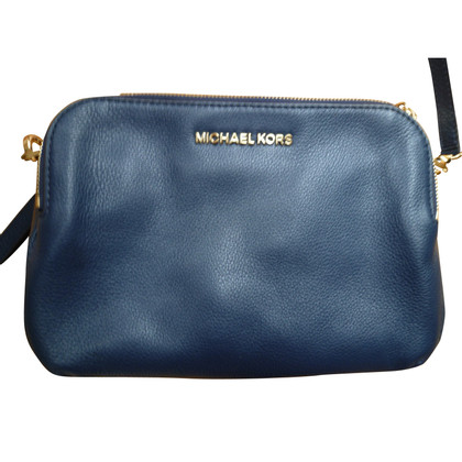 Michael Kors dark blue bag