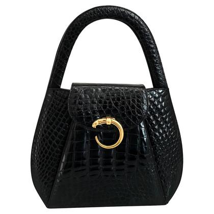 Cartier Crocodile leather handbag