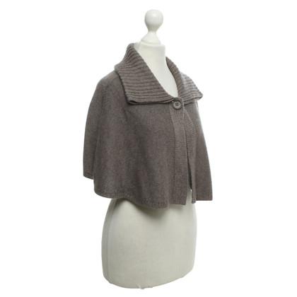 Marc Cain Strickcape in Taupe