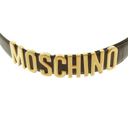 Moschino Belt in dark brown