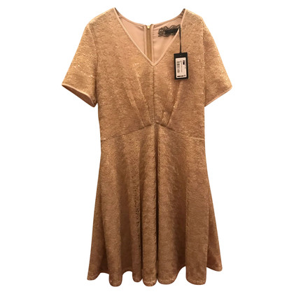 Patrizia Pepe Gold colored dress