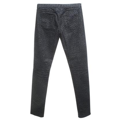 Saint Laurent Leopard print jeans