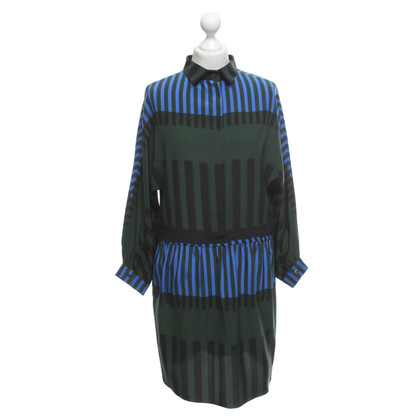 Marni Dress with stripe pattern