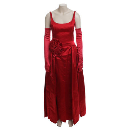 Escada Ball gown with gloves