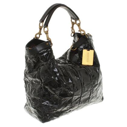 Escada Black patent leather handbag