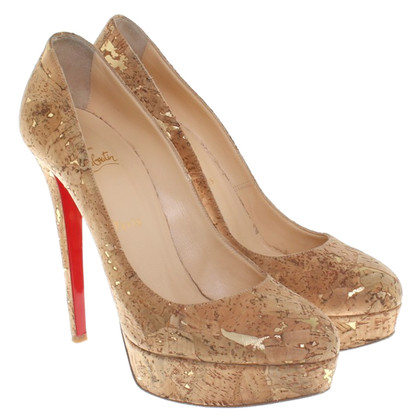 Christian Louboutin pumps with cork