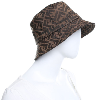 Fendi Cappello con logo design
