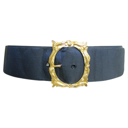 Chanel satin belt