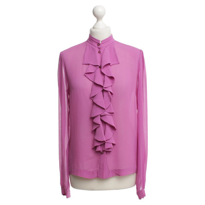 By Malene Birger Bluse in Fuchsia