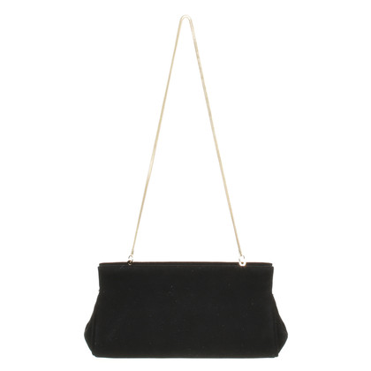 L.K. Bennett clutch in zwart