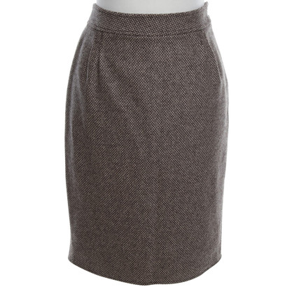 Blumarine Wool skirt with pattern