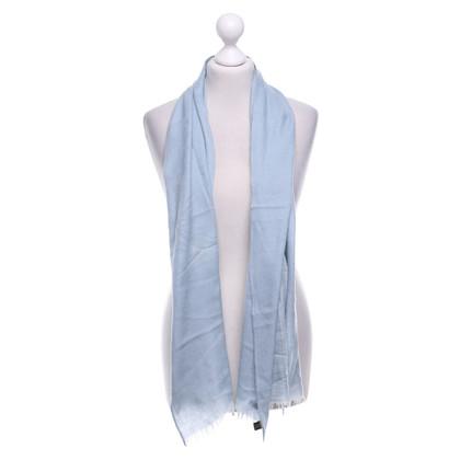 Loro Piana Foulard en bleu clair