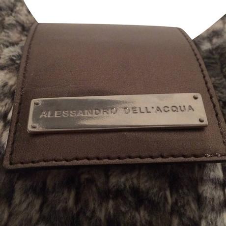 Günstiger Preis Fälscht Freie Verschiffen-Spielraum Alessandro Dell'Acqua Tasche Grau awfs5Adixq