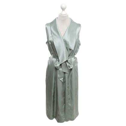 Iris & Ink Avvolgere il vestito in verde menta