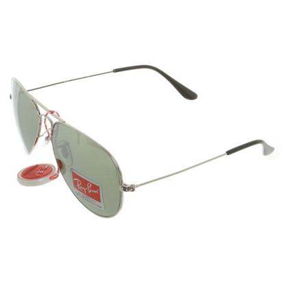 Ray Ban Pilot-style sunglasses