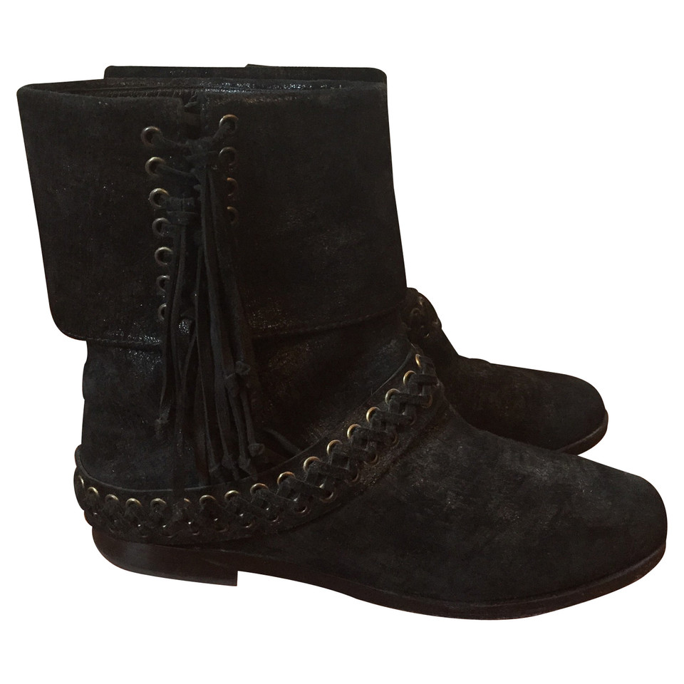Balmain Balmain Black Boots T.36 IT