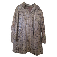 N.d.c. Made by Hand Real python skin jacket vintage