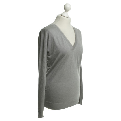 Paul & Joe Fine knit sweater in grey