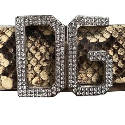 Dolce & Gabbana Belt Python