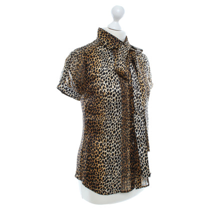 Dolce & Gabbana Blouse with animal print