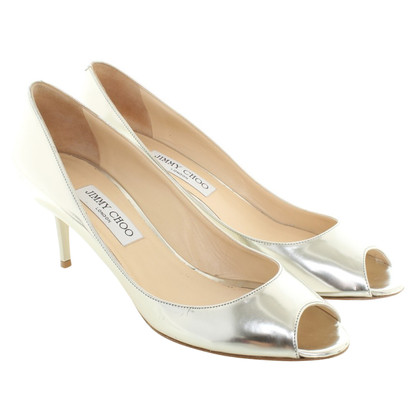 Jimmy Choo pumps in silver colors