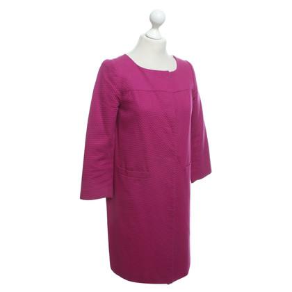 Tara Jarmon Coat in fuchsia