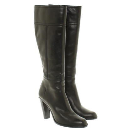 Costume National Stiefel in Schwarz